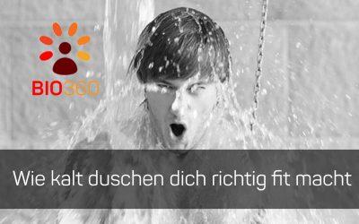 ᐅ Wie kalt duschen dich richtig fit macht