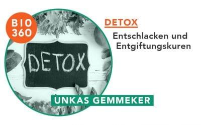 ᐅ Detox, Entschlacken und Entgiftungskuren: Befreie Deinen Körper vor Umweltgiften