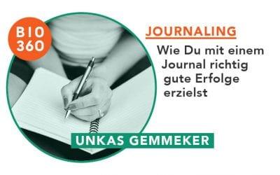 ᐅ Journaling – Wie Du mit einem Journal richtig gute Erfolge erzielst