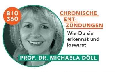 ᐅ Chronische Entzündungen – wie Du sie erkennst und loswirst: Prof. Dr. Michaela Döll