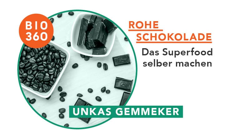 ᐅ Rohe Schokolade – Das Superfood selber machen