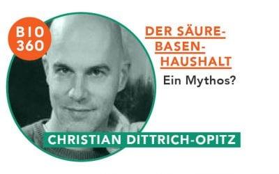 ᐅ Der Säure-Basen-Haushalt – Ein Mythos? Christian Dittrich-Opitz