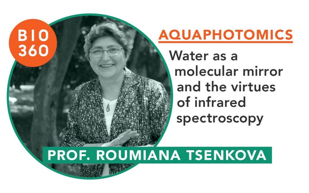 Aquaphotomics : Prof. Roumiana Tsenkova
