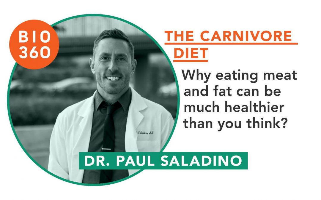 The carnivore diet : Dr. Paul Saladino