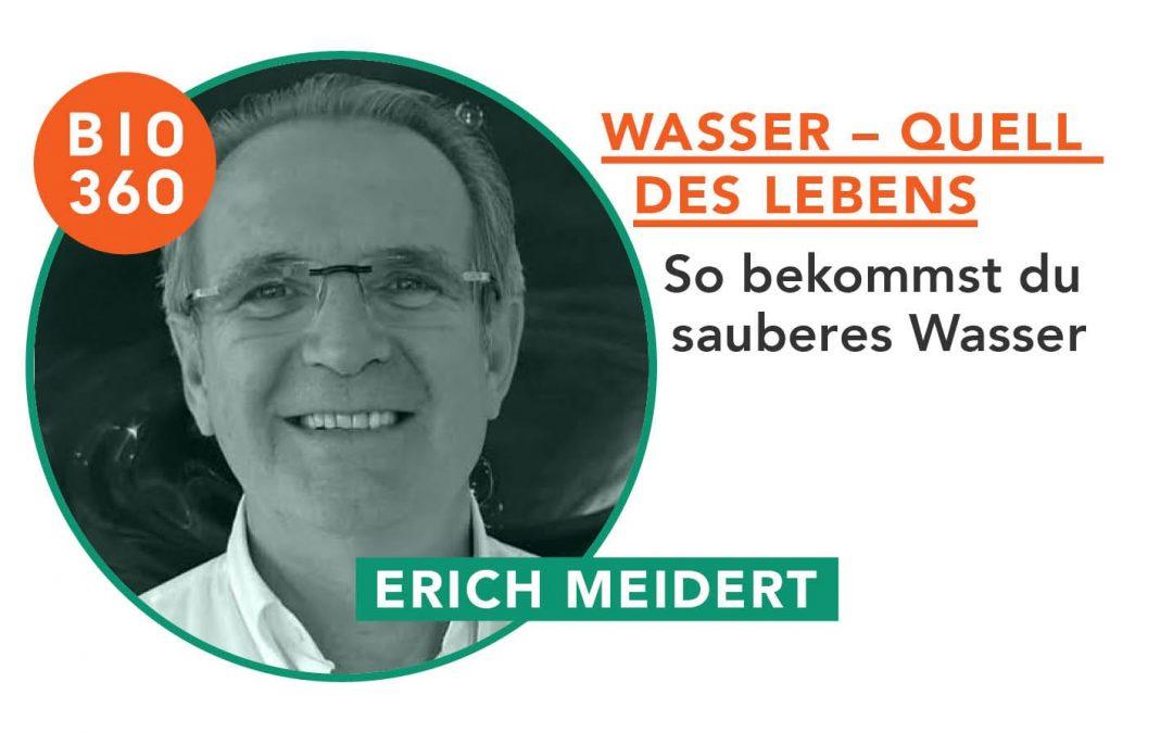 Wasser – Quell des Lebens: Erich Meidert