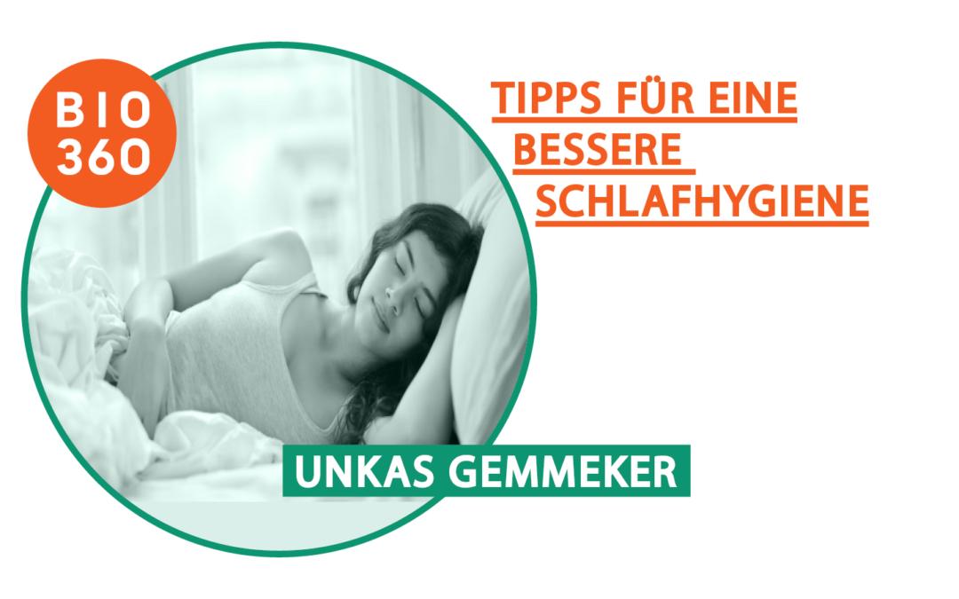 Neun wichtige Tipps für eine bessere Schlafhygiene