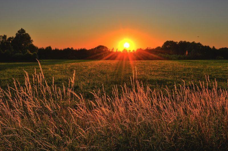 Melatonin Sonnenuntergang rotes Licht Bio360