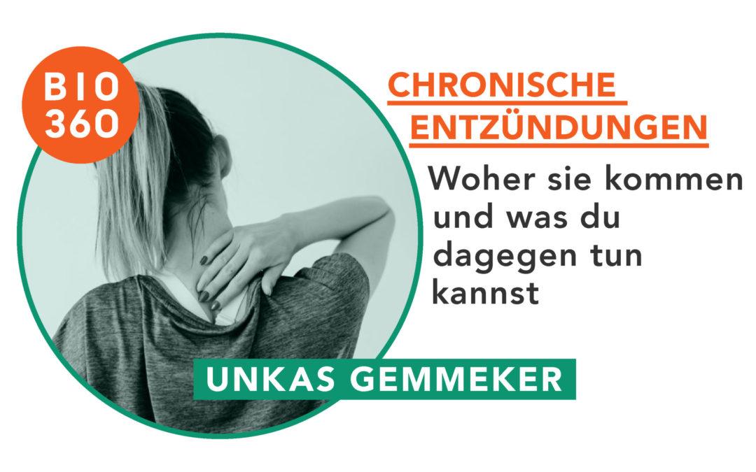 Chronische Entzündungen: Woher sie kommen und was du dagegen tun kannst