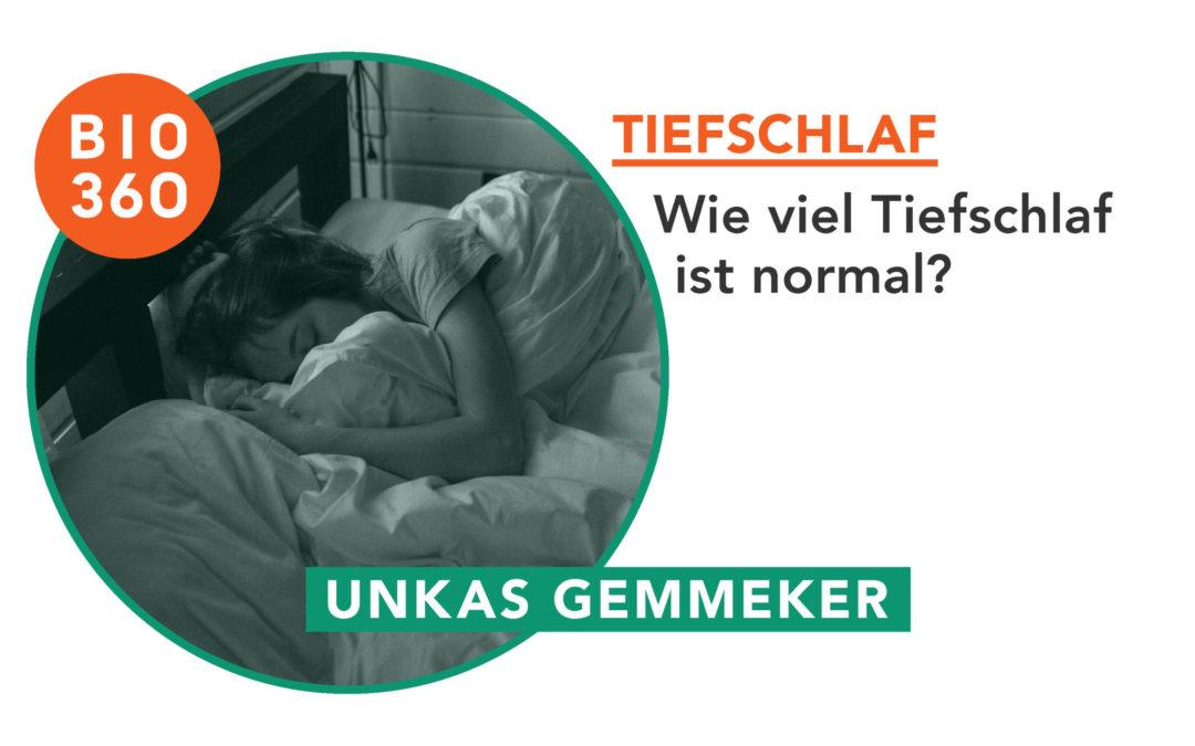 Wie viel Tiefschlaf ist normal?