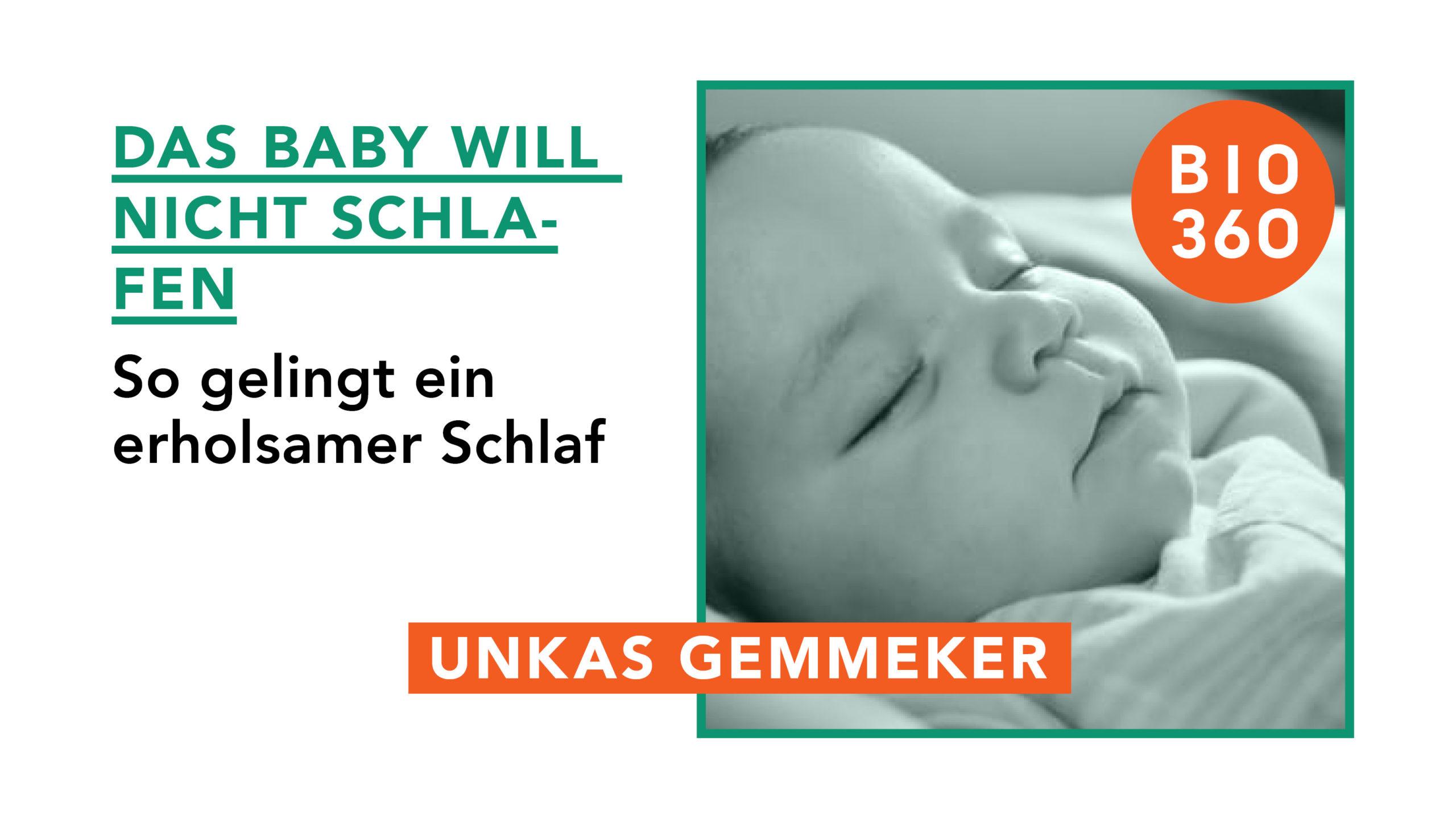 Titelbild Das Baby will nicht schlafen
